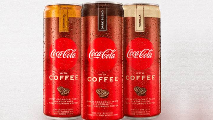 Coca-Cola Launches New Coffee Drink In Three Flavours
