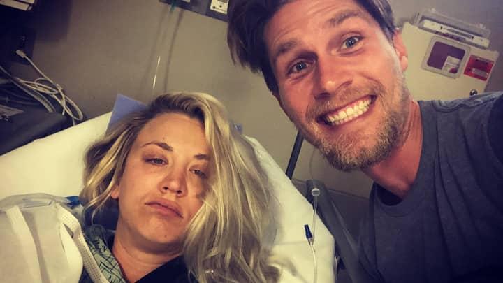 Big Bang Theory's Kaley Cuoco Has Spent Her Honeymoon In Hospital