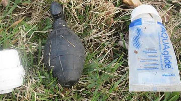 'Grenade' Found In Woods Turns Out To Be Extremely X-Rated Find