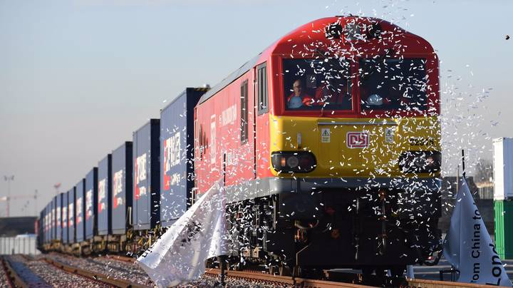 First Direct Train From Britain To China Sets Off On 7,500 Mile Journey