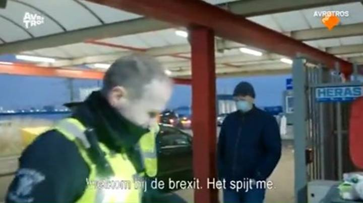 Dutch Officials Say 'Welcome To Brexit' As They Take Driver's Ham Sandwich