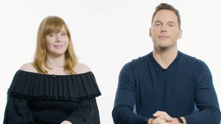 Rate My Dinosaur: Chris Pratt And Bryce Dallas Howard Rate Your Videos