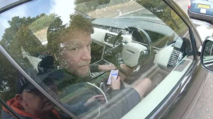 Guy Ritchie Banned From Driving After Cyclist Catches Him Texting At The Wheel