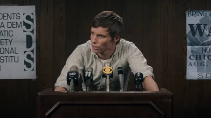 Eddie Redmayne's American Accent In New Netflix Film Takes People By Surprise