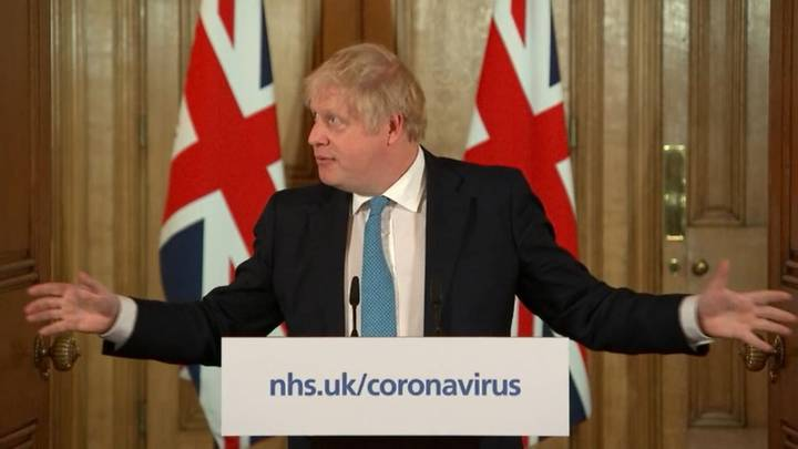 Boris Johnson Hopes To 'Turn Tide' Of Coronavirus Within 12 Weeks