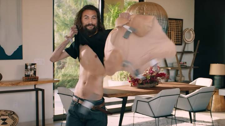 People Are Freaking Out About Jason Momoa's Super Bowl Mortgage Advert