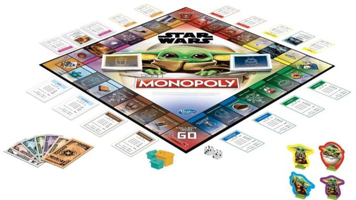 Hasbro Is Releasing A Baby Yoda Version Of Monopoly