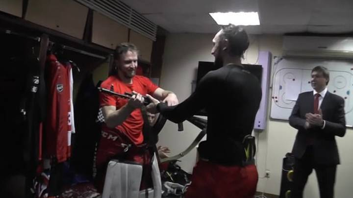 Russian Man Named Man Of The Match And Given AK47 As Prize