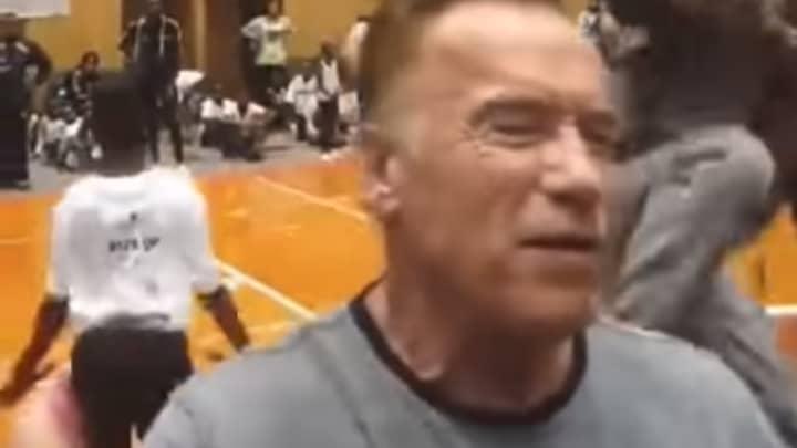 It's Been Two Years Since Arnold Schwarzenegger Was Dropkicked By A Fan