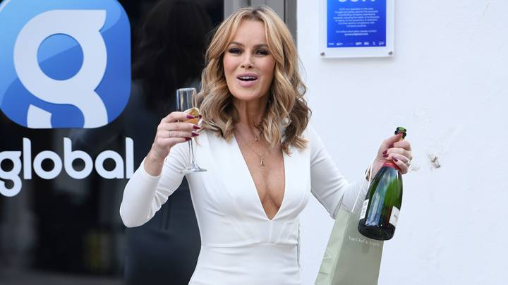 Amanda Holden Cooked A Roast Dinner Naked And Says Her Family Are 'Used To It'