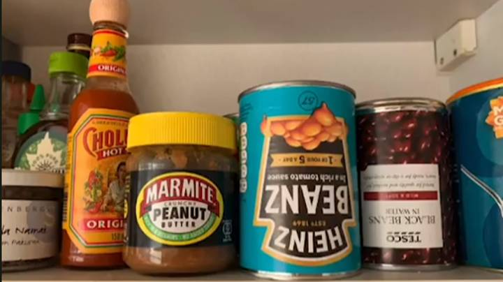 Man Shows Why You Should Store Baked Beans Upside Down