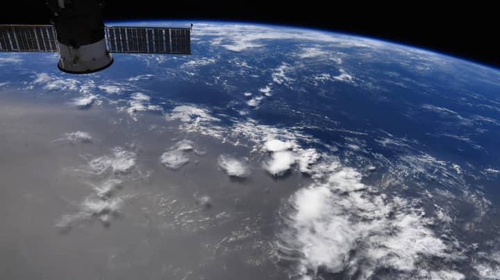 NASA Astronaut Shows Massive Dust Plume Spreading Across The Globe
