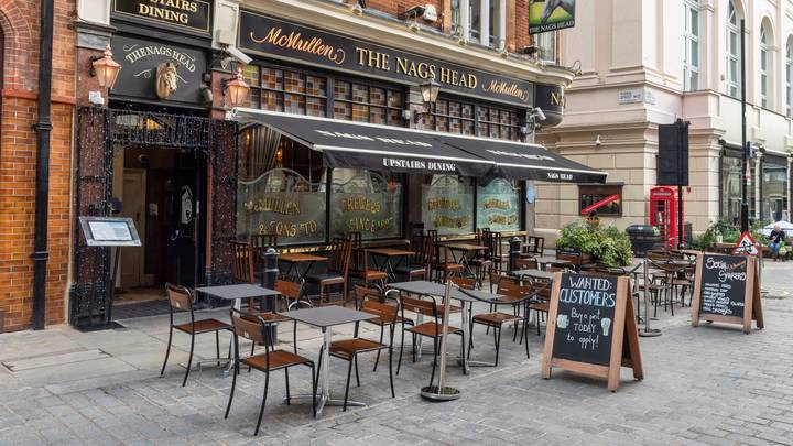 Pubs In England Will Be Able To Open Outside In A Week