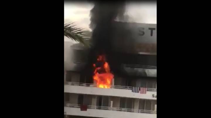Four Brits Appear In Court Charged With Setting Magaluf Hotel On Fire After 'Prank Goes Wrong'