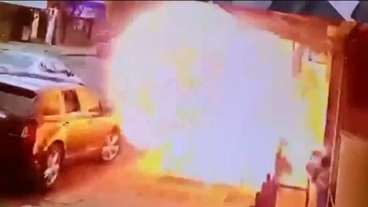 Pedestrian Has Miraculous Escape After Being Caught In New York Pavement Explosion