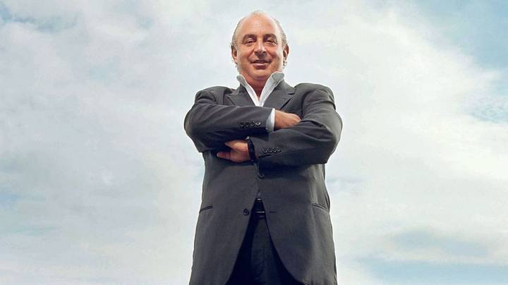 Photographer Makes Philip Green 'Look Like A P***k' With Posed Image