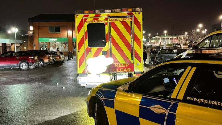 Banned Driver 'Took Family To Supermarket In Ambulance With Emergency Lights On'