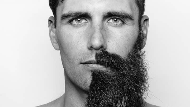 Aussie Man Is Walking Around With Half A Beard To Save The World's Rainforests