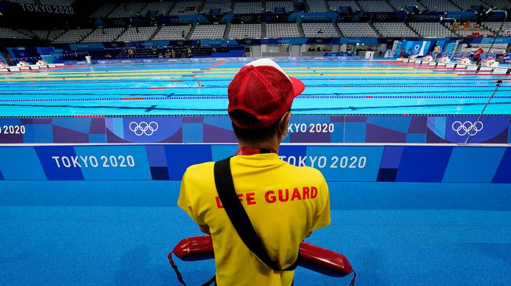 Lifeguard For Olympic Swimmers Explains Why Job Isn't Pointless