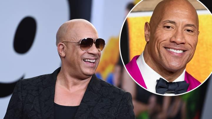 Vin Diesel Finally Explains Dwayne Johnson Feud