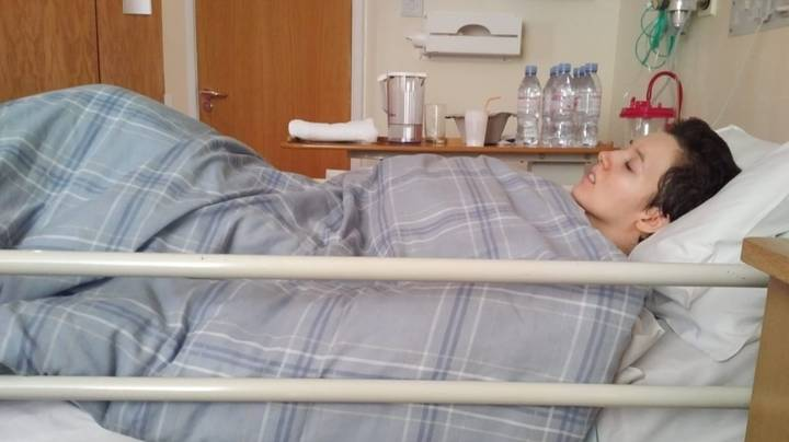Woman Who Can't Move Without Damaging Spine Raising £750,000 For Life-Saving Operation