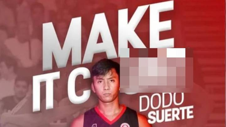 Filipino University Basketball Team Suffers Epic Design Fail