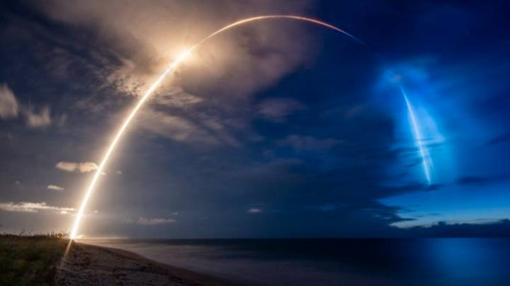 SpaceX's Starlink Launch Leaves Stunning Rainbow Cloud In The Sky