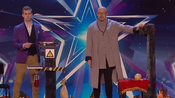 Crossbow Act Has Britain's Got Talent Audience On Edge Of Their Seats In Unseen Clip
