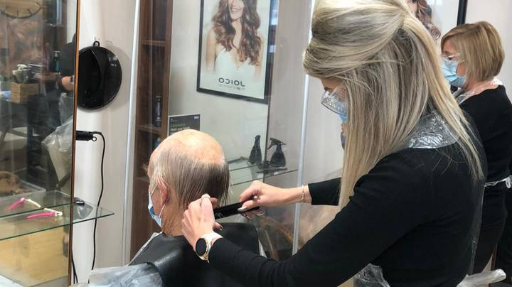 Hairdresser May Have Saved Customer's Life After Seeing Lump Behind His Ear