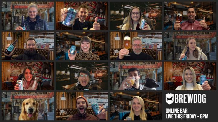 BrewDog Opening 102 Virtual Pubs For People To Meet Online For A Pint