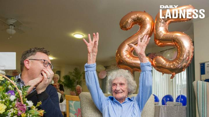 Centenarian Born On Leap Day Celebrates Her '25th Birthday' With Big Surprise Party