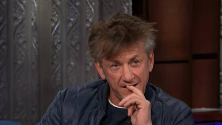 Fans Worried For Sean Penn After 'Late Show With Stephen Colbert' TV Appearance