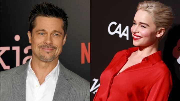 Brad Pitt Once Bid $120k For 'Date' With Emilia Clarke