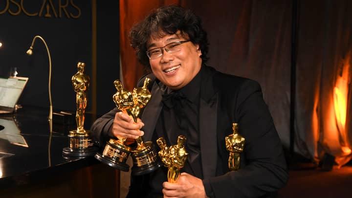 Parasite Director Bong Joon-Ho Apologises To Oscars Engravers For Having Too Many Awards