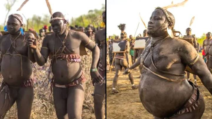 Inside Tribe That Competes For Title Of Being The Fattest Man In Village