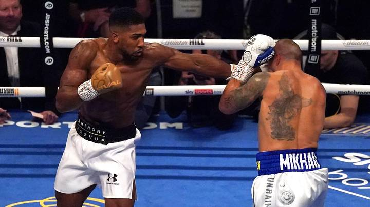 Boxing Expert Explains Why Final Round Of Anthony Joshua Fight Seemed To End Early