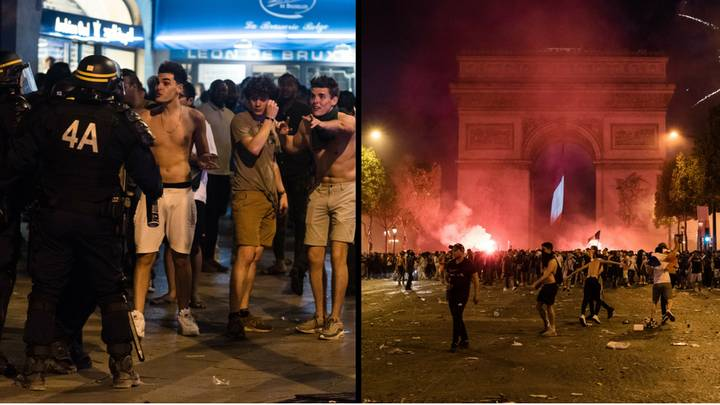 Two French Fans Die After Violence Erupts In Aftermath Of World Cup Win