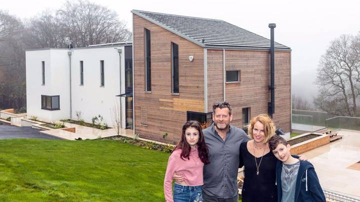 Family Builds Dream Six-Bedroom Flat Pack Home In Just Four Days