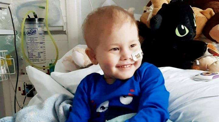 Stem Cell Match Has Been Found For Little Boy Battling Cancer After 10,000 People Come Forward