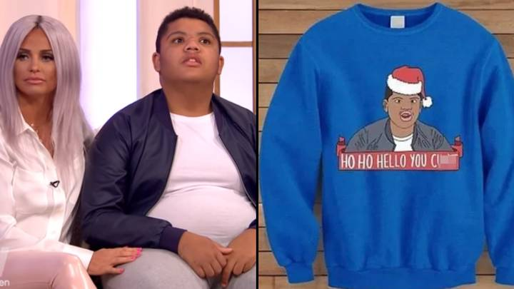 Katie Price Slams Christmas Jumpers Featuring Disabled Son Harvey