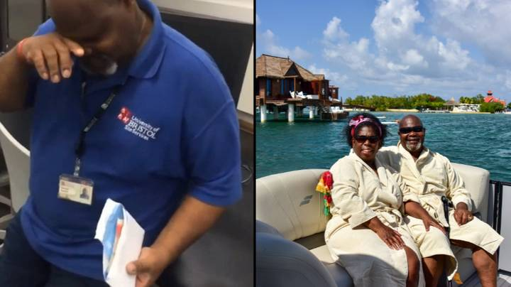 Popular Cleaner Goes On Holiday Paid For By Students So He Can See His Family