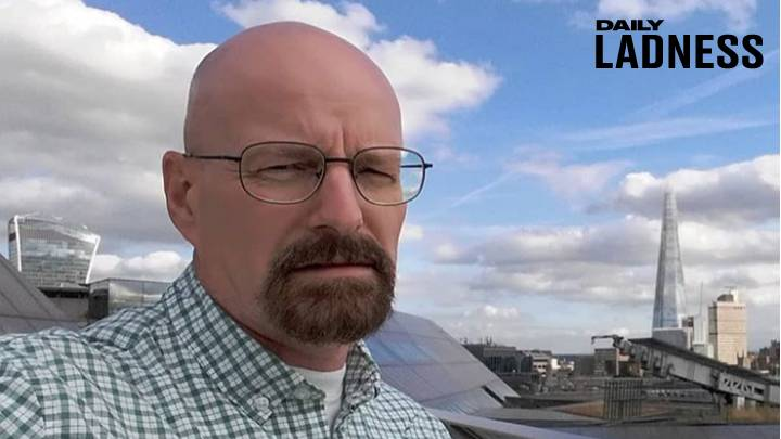 Walter White Lookalike Who Works In Tesco Lives Second Life As Heisenberg