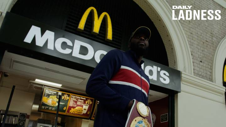 Boxer Lawrence Okolie Went From Working At McDonald's To World Cruiserweight Champion