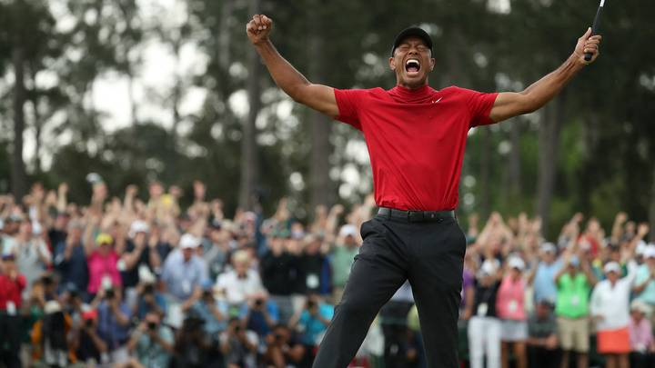 Tiger Woods Earned £17.1m For Rolling In His Winning Masters Putt