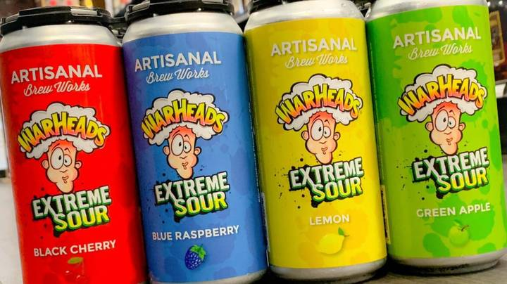Company Creates Sour Warhead Flavoured Alcoholic Beer And Seltzer