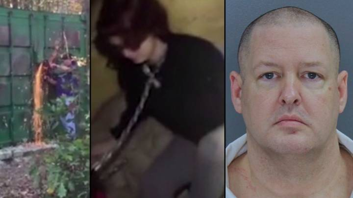 Video Shows Moment Woman Is Rescued From Serial Killer