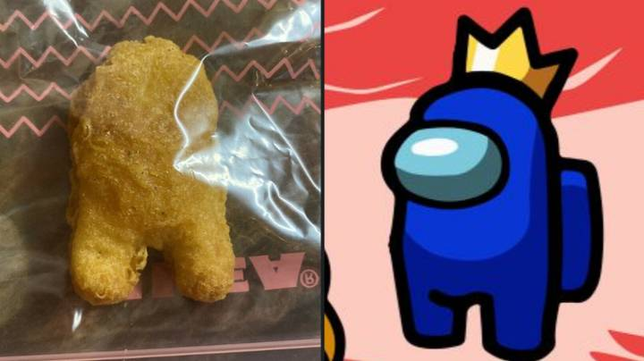 McDonald's Chicken Nugget Shaped Like An Among Us Character Is Being Sold For $51,800