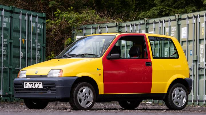 The 'Bus W*****s' Fiat From The Inbetweeners Is Up For Auction