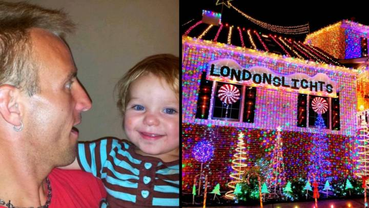 Dad Puts Up 300,000 Christmas Lights In Touching Tribute To His Daughter