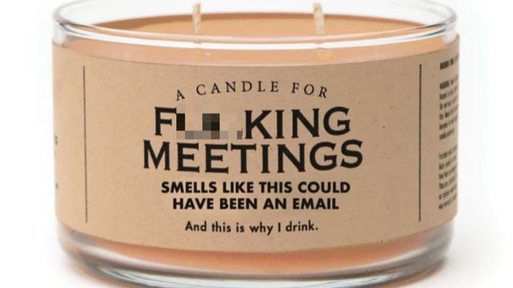 Company Creates Candle For People Who Hate Workplace Meetings